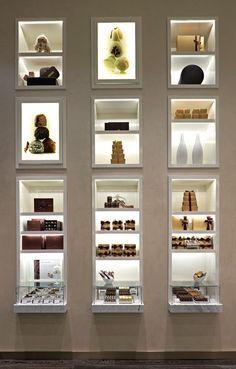 minimalist spa retail product display design - Google Search: