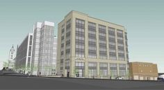 Buncombe County Health and Human Services Addition - A new 10k sqft per floor, 7 story, office building adjacent to the existing Human Services Building on Coxe Ave. - 8 level, 35k sqft per floor, parking deck is attached -UNDER CONSTRUCTION