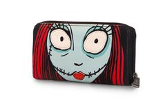 Disney The Nightmare Before Christmas Jack & Sally Large Face Wallet by Loungefly