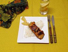 Házias konyha: Mézes-mustáros harcsafilé Steak, Food, Essen, Steaks, Meals, Yemek, Eten