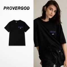 b5183af9f PROVERGOD Street Retro T Shirt Men Fashion Street Skateboards Short Sleeve  O Neck Cotton Tops Tees Letter Print Plus Size-in T-Shirts from Men's  Clothing ...