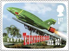 Thunderbirds stamp 1