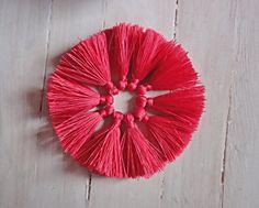 Tassels decorative embellishment of thread/ Brush set 10 pieces/ tassels for…