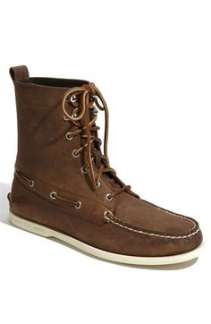 Sperry boot? Clean-up on aisle 3 please.