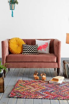 Plum & Bow Tufted Settee