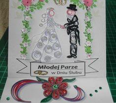 Papier wszystko zniesie...: Kartki z okazji ślubu