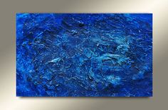 47x32 Original Acrylic Painting Abstract Painting by ShowtimeModernArt, $390.00