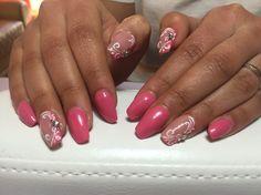 Nails corallo pastello