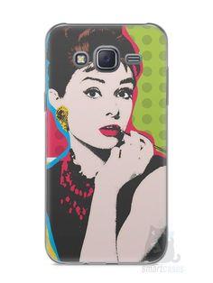 Capa Capinha Samsung J5 Audrey Hepburn #3 - SmartCases - Acessórios para celulares e tablets :)