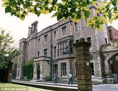 studied at Winchester College in Winchester, England