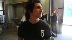 Vic dancing in the background...