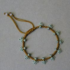 knotted little clovers bracelet