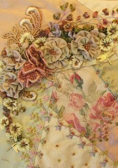 Crazy quilt and an online store that is swoon worthy!