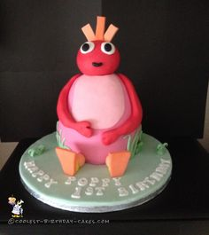 Coolest Twirlywoos Cake... Coolest Birthday Cake Ideas