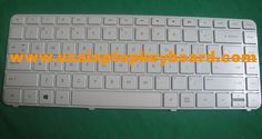 HP Pavilion DV4-5000 Series Laptop Keyboard white