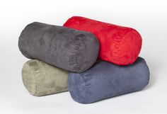 TUBESAC:   Tired of having your body totally relaxed and still having to hold your head up? These sausage like cylindrical sacs are perfect as neck rollers or even a portable pillow for travel.