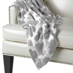 Mimosa Throw - Steel from Z Gallerie