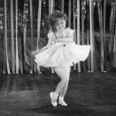 """ Shirley Temple performing ""On Account-a I Love You"" in Baby Take a Bow (1934) """