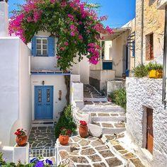 Lefkes Paros Cyclades #Greece #Ελλάδα . #Greek_Bllue