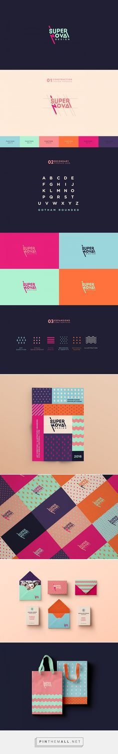 Supernova Design Branding on Behance... - a grouped images picture - Pin Them All