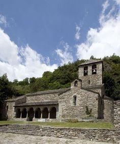 Església romànica de Queralbs. Romanic church of Queralbs