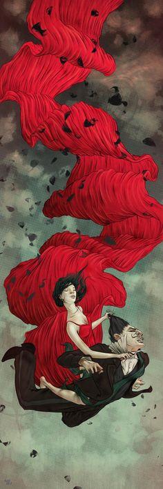 Tosca ::: #Art #Illustration #Drawing