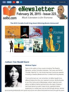 A bunch of great children's books featuring African American characters.