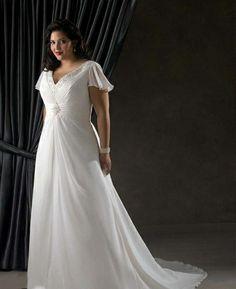 bafe7891bc20d big size wedding dresses   Elegant, light, plus size wedding dress in Cape  Town