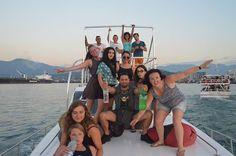 Boat, trip, alcohol, party, georgia, georgie, travel, journey, reis, incombinacion, volunteers, vrijwilligers, tussenjaar, evs