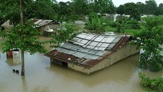 500 people have died during India's monsoon season but farmer Biren Gogoi is refusing to leave his flooded home. Water Resources, Natural Resources, Across The Border, Water Management, Monsoon, Ecology, The Locals, Nepal, My House