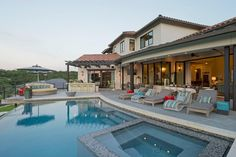 Mediterranean home w/ pool