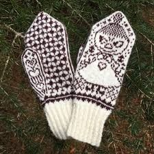 Bildresultat för faen så kaldt Fingerless Mittens, Knit Mittens, Knitted Gloves, Knitting Socks, Free Knitting, Baby Knitting, Beginner Knitting Patterns, Mittens Pattern, Wrist Warmers