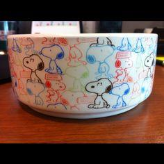 Snoopy bowl