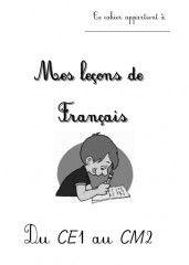 """""""Mes leçons de français"""" du CE1 au CM2 - Sommaire & Partie 1 (Grammaire) - Kalolanéa III"""