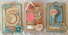 Graphic 45 Come Away With Me 6 x 4 Slider Card Tutorial by Anne Rostad
