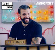 Jay Hutton (@JayTAT2) | Twitter Tattoo Fixers Jay Hutton, Hot Hunks, Tattoo Studio, Tattoo Artists, Peeps, My Favorite Things, Twitter, Love Of My Life, Cute Guys