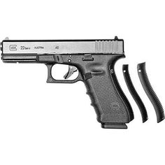 Glock 17 Gen 4 for sale with cheap shipping and the lowest price! Click the GrabAQuote button to get the absolute best deal online on the Glock 17 Gen 4 Black Fixed Sights 3 Magazines. Glock 22, Glock Guns, 9mm Pistol, Home Defense, Guns And Ammo, Firearms, Shotguns, Hand Guns, Black