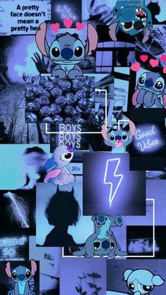 Dark blue Stitch