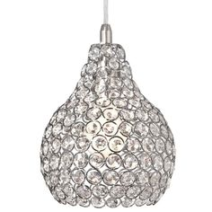 House of Hampton Mcewen Single Teardrop Pendant Drum Pendant, Globe Pendant, Lantern Pendant, Pendant Set, Mini Pendant, Crystal Pendant, Pendant Lighting, Chandelier Lighting, Drop