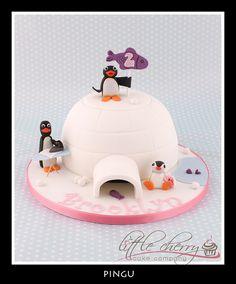 Pingu by Little Cherry Cake Company, via Flickr