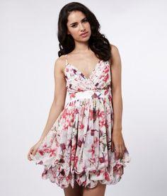 babydoll print dress