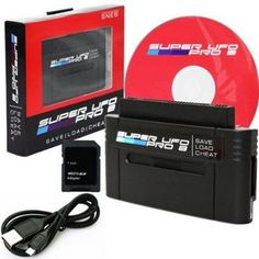 SNES - Adapter - Super UFO Pro 8 Game Saves & Backup Cartridge Adapter (UFO) - PlayAndCollect