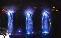 New fountain in Gdańsk - Hevelius Square