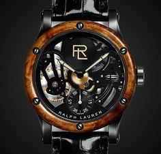 My new obsession, my new object of desire is this watch of Ralph Lauren. No words