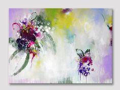 Originele extra grote abstracte schilderkunst door ARTbyKirsten