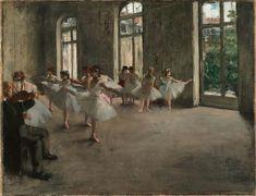 Degas, Ballet rehearsal
