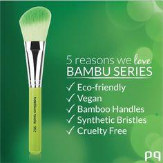 5 Razones por las que enamorarte de las brochas BAMBU de Bdellium Tools #potiadictas #cosmetics