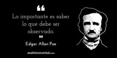 Edgar Allan Poe www.analisisnverbal.com