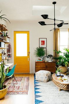Consider Your Decor - Painting Your Door Will Definitely Brighten Your Day - Photos