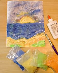 Activities: Make a Summery, Sandy Seascape!